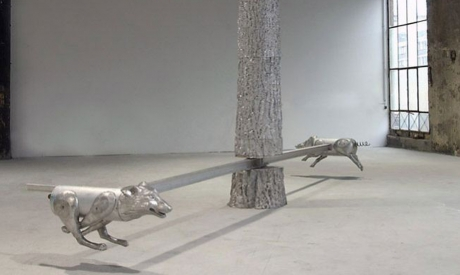 "Richard Jackson - ""Wolf and Pig"""